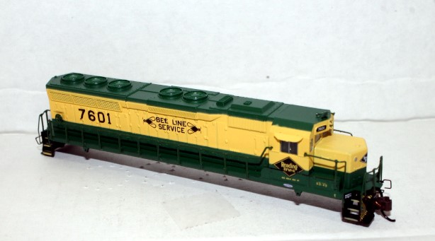 Shell - Reading #7601 ( N SD-45 Sound Value )